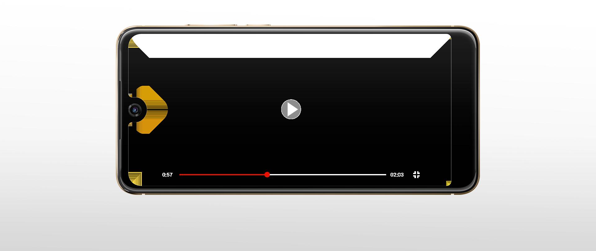 frame che rappresenta il cellulare View 2
